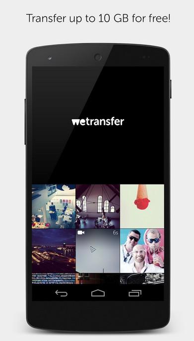 wetransfer-nuevas-aplicaciones-android