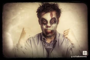 maquillaje de halloween en google +