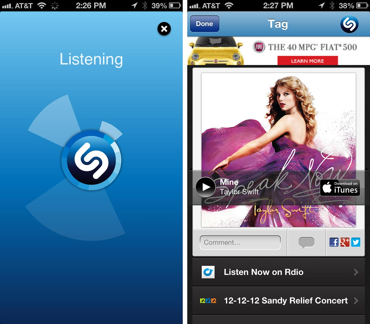 mejores apps 2014 shazam