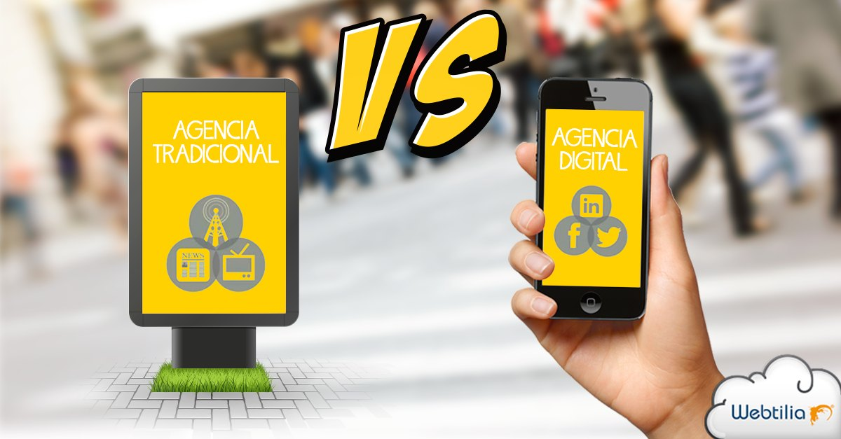 agencias digitales que las diferencia de las tradicionales