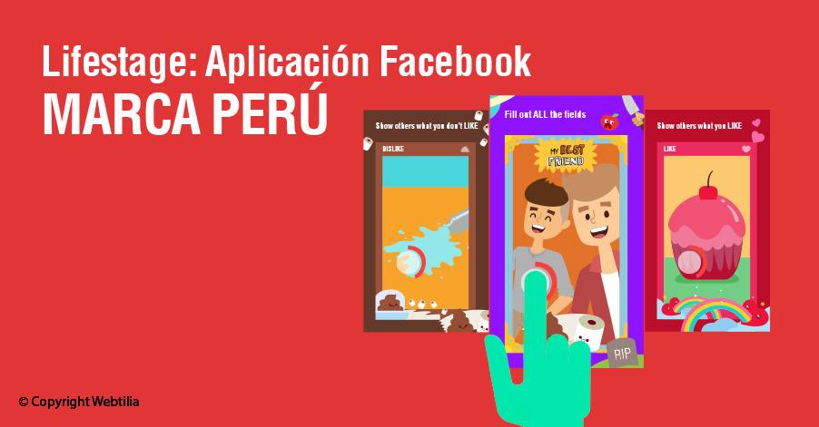 lifestage aplicacion facebook