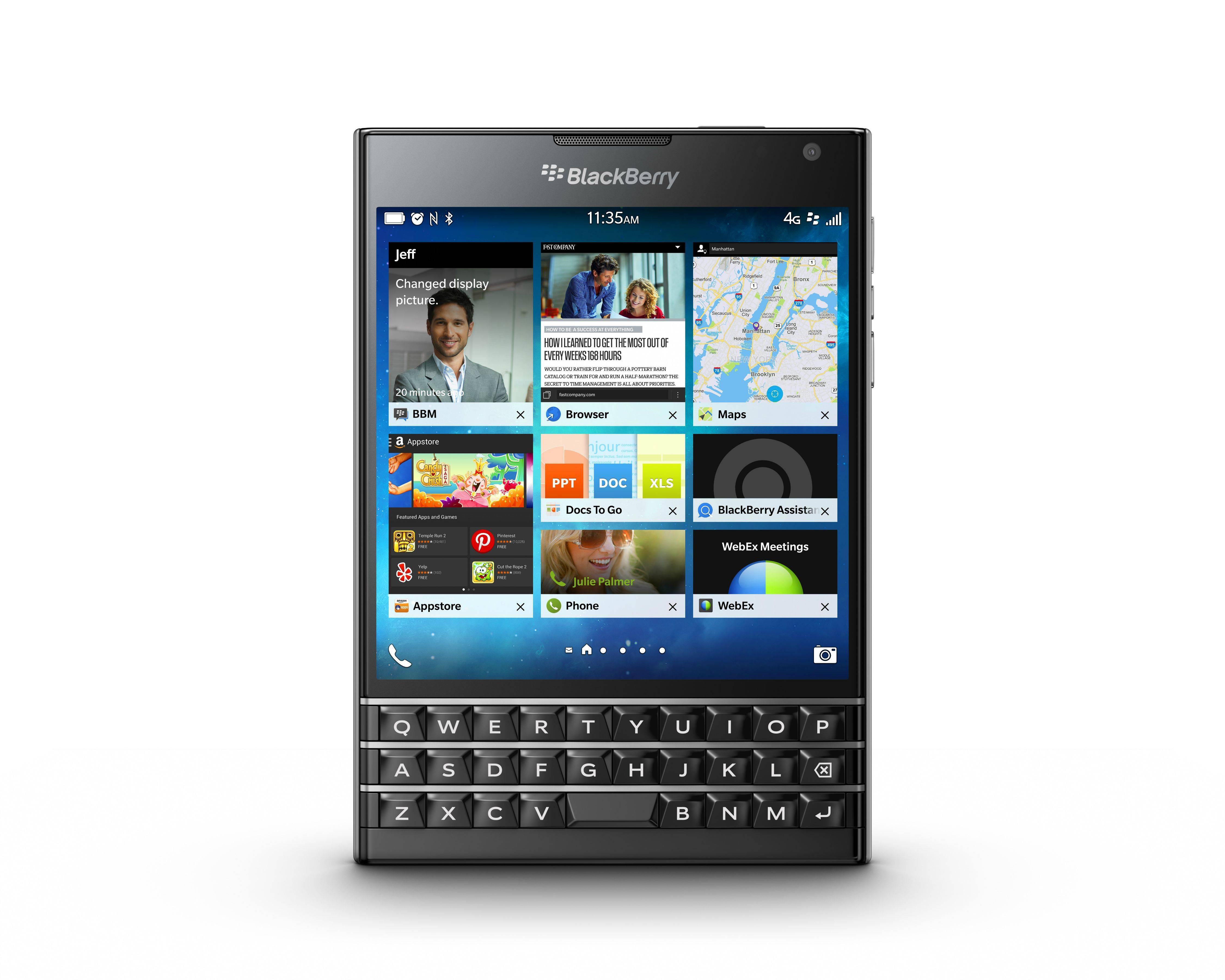 El BlackBerry Passport: lo nuevo en el mundo smartphone