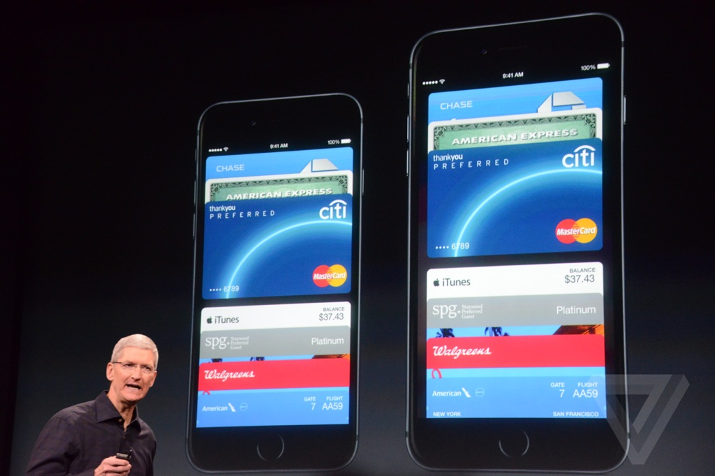 Anuncio de apple pay