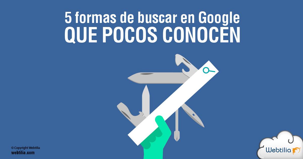 usos buscador de google