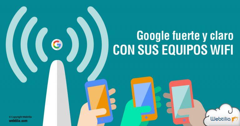 google senal wifi