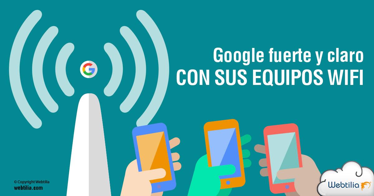 Ahora Google se hará oír fuerte y claro en señal wifi