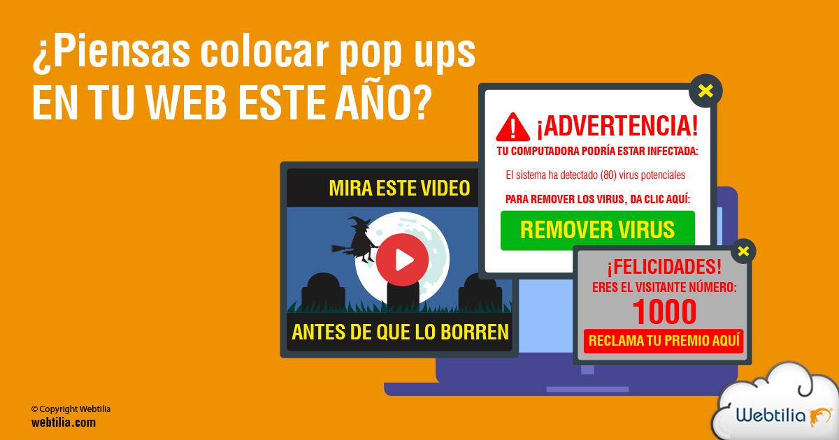 pop ups web penalizaciones google