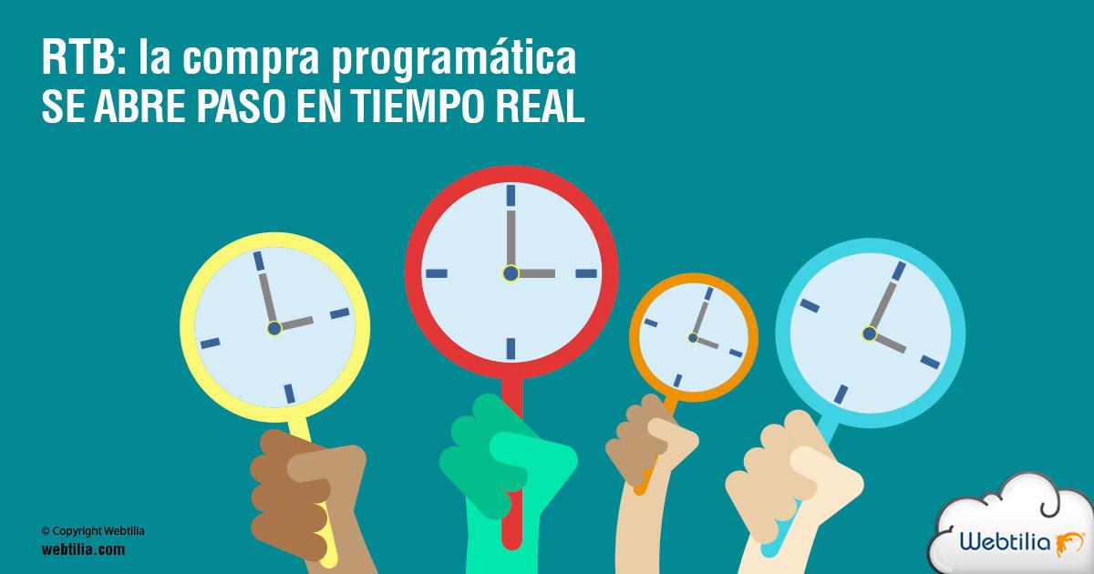 RTB: la compra programática se abre paso en tiempo real