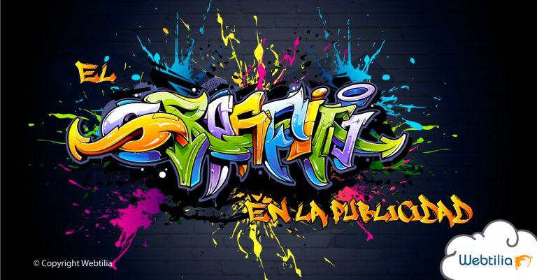 graffiti en la publicidad