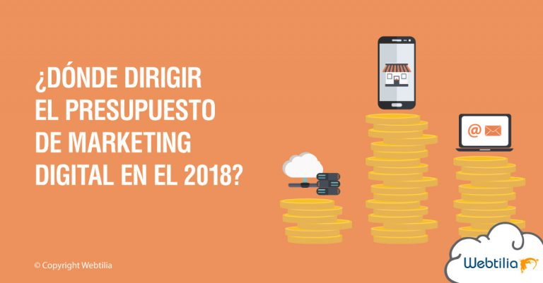presupuesto de marketing digital