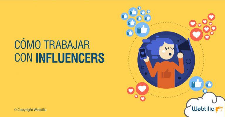 como trabajar con influencers