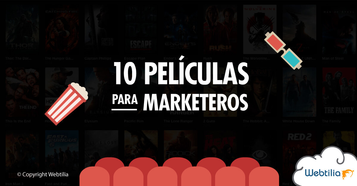 10 películas para marketeros y publicistas
