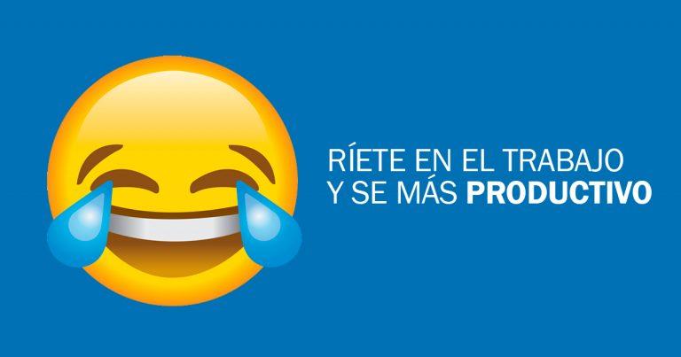 la risa aumenta la productividad