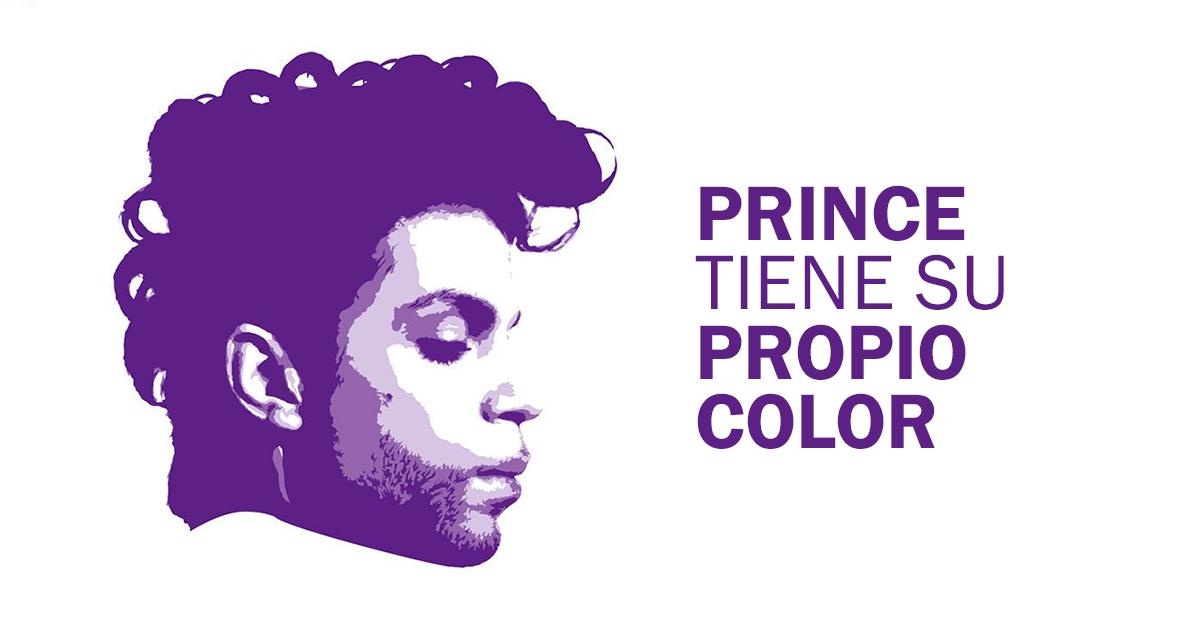 """Pantone lanza """"Love Symbol #2"""" en honor a Prince."""